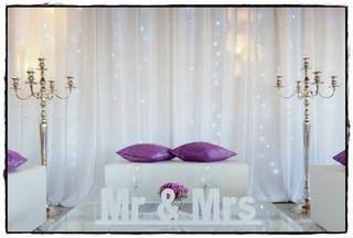 wedding decor white cocktail furniture